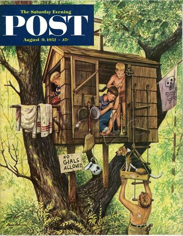 The Saturday Evening Post Summer, 1952