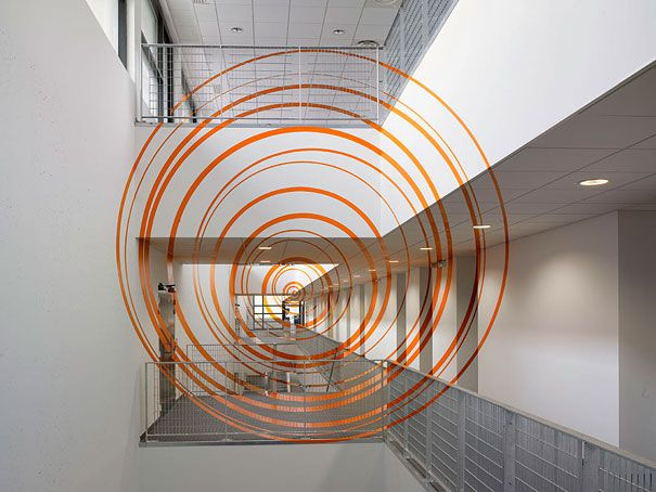 : Whorl, Spirals, Public Spaces, Optical Illusions, Anamorph Illusions, The Artists, Helix, Environment Graphics, Felicity Varini