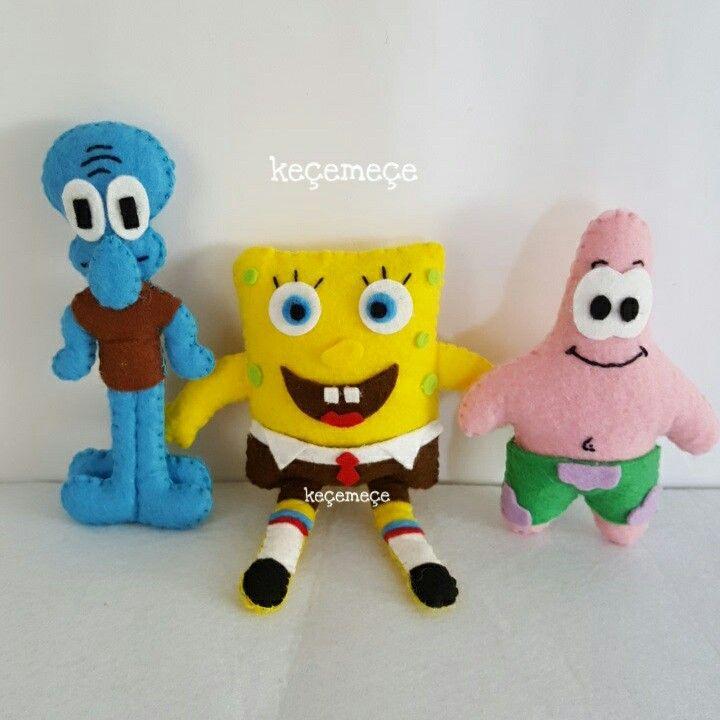Keçe sünger Bob,felt spongebob