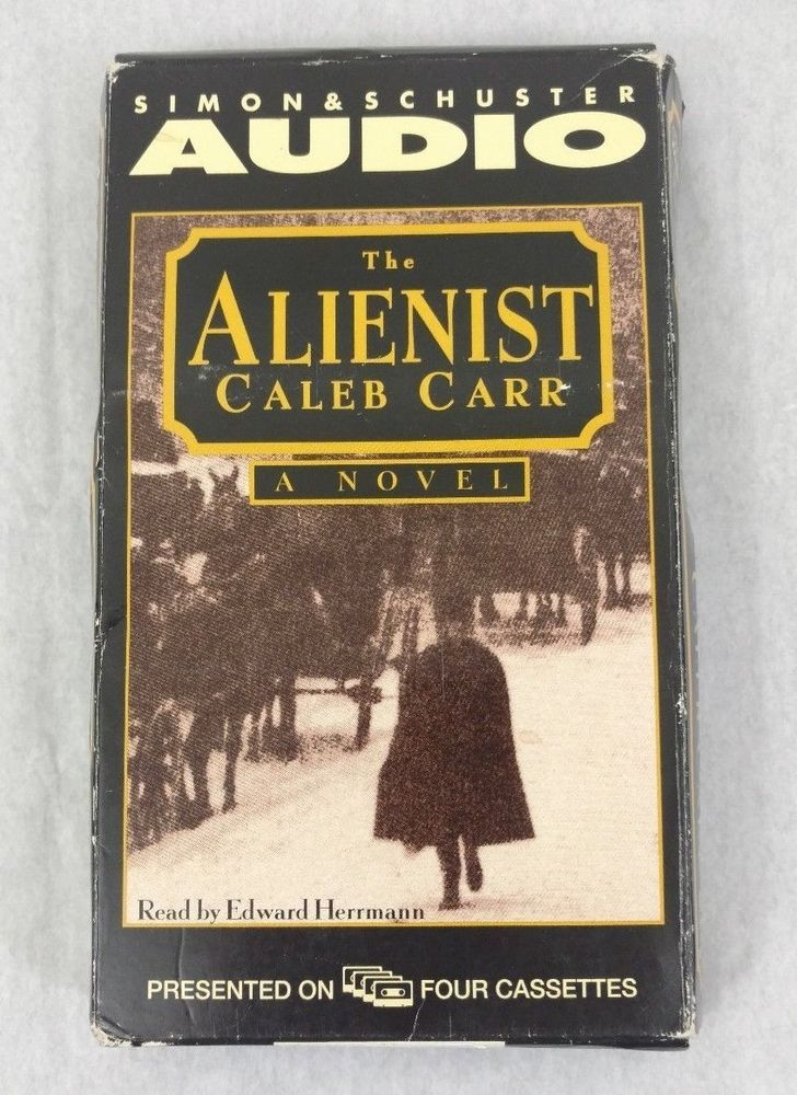 The Alienist Caleb Carr 1994 Audiobook 4 Cassette Set Abridged