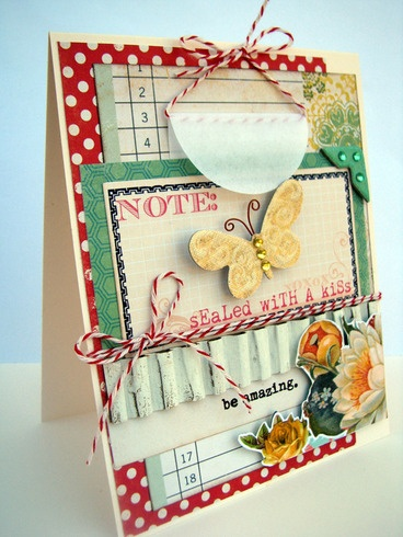 Sealed With A Kiss, card by Char4355