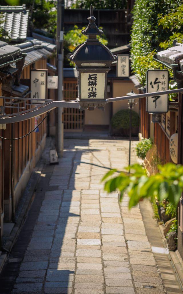 Ishibori-koji, backstreet, Kyoto