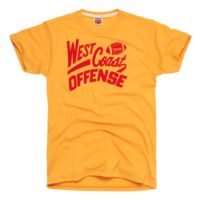 HOMAGE San Francisco 49ers West Coast Offense T-Shirt - $28.00