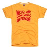 HOMAGE San Francisco 49ers West Coast Offense T-Shirt - $28.00