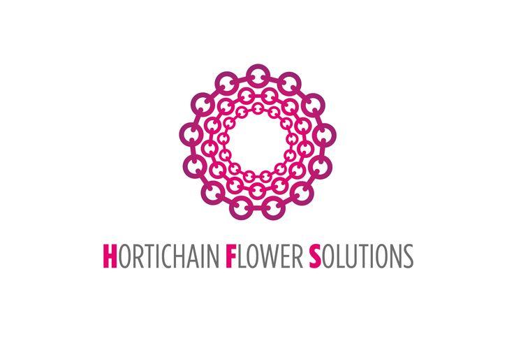 Logo Design voor Hortichain Flower Solutions