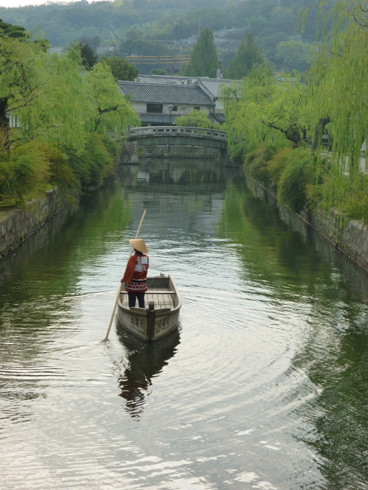 Kurashiki Canal #japan #okinawa: Travelphotographi Travelinspir, Japan Chugoku, Favorite Places, Favourit Places, The Angel, Angel Time, Canal Japan, Japan Okinawa, Japan On