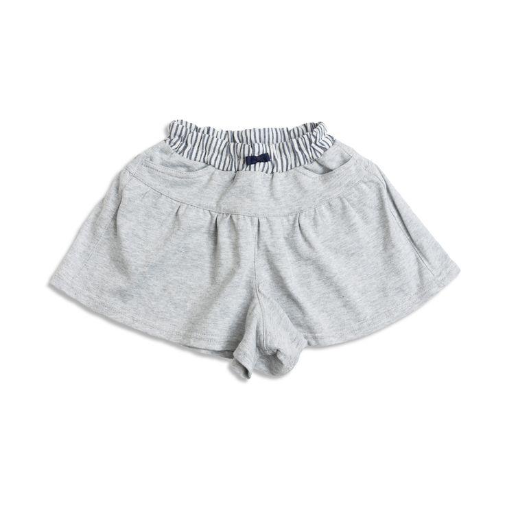 Girl's Sparkle Shorts - Gray