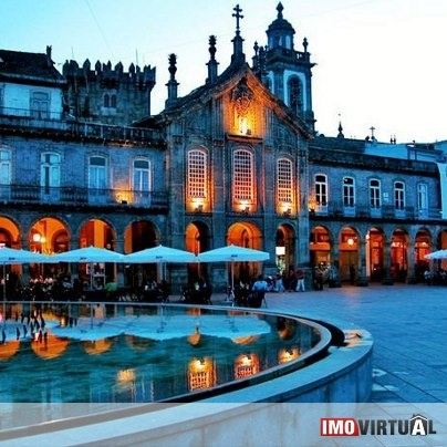 Braga main square - Portugal