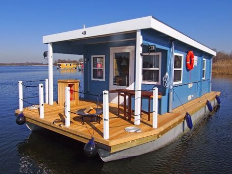 hausboot bunbo 1000l - Small Houseboat
