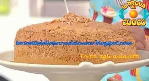 """Torta agli amaretti ricetta Anna Moroni da """"La Prova del Cuoco"""""""