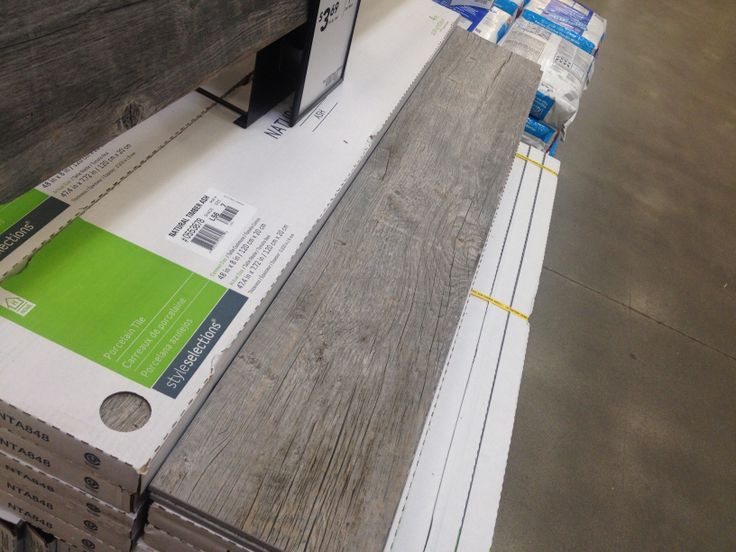 Ceramic Tile That Looks Like Barnwood. At Lowes. Want For