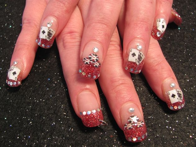 Gambling Nail Art Designs Gambling Ky