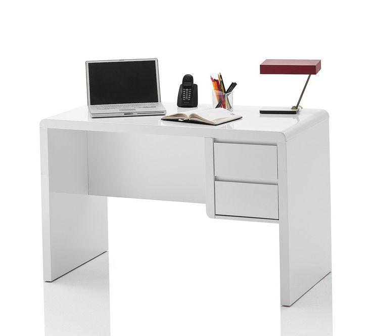 Schreibtisch weiß hochglanz glas  Die besten 25+ Schreibtisch weiß hochglanz Ideen auf Pinterest ...