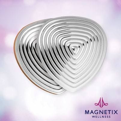 More and more people who are stressed by their daily lives decide to wear jewellery from Magnetix wellness.  The Power heart with extra strong magnets and a counter plate which allows you to wear it close to your skin.  It can be worn anywhere on the body,
