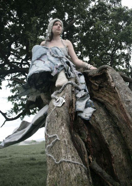 Roots Aoife Twomey A statement garment made from 100% Linen