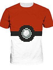 geinspireerd door Pokemon Overige Anime Cosplay Kostuums Cosplay T-shirt Print T-Shirt