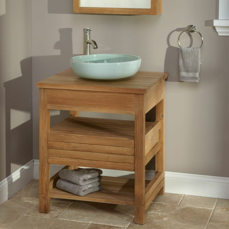 24  Anders Teak Vanity with Teak Top   No Drillings. 17 Best images about Hawaiian bathroom ideas on Pinterest   Teak