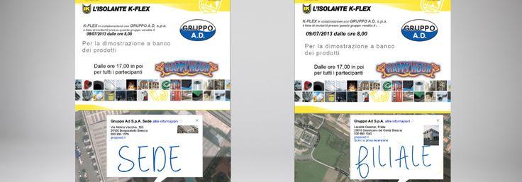 Oggi erano a #borgosatollo, domani i prodotti K-Flex sono ospiti della filiale di #desenzano , #gadget e #offerte ti aspettano ! e dalle 17,00 in poi … #HappyHour !!