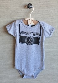 future photographer onesie in gray #ruche $25