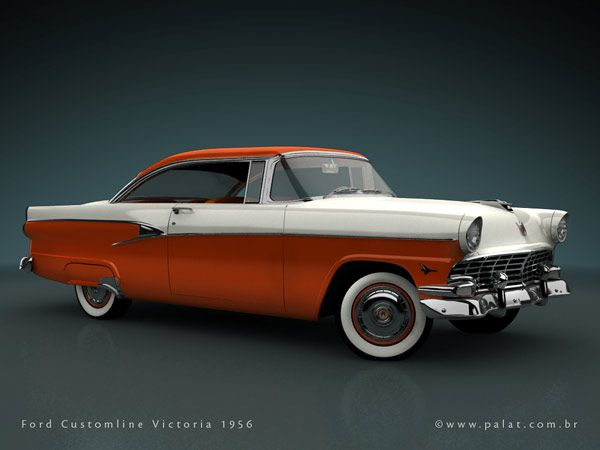 1956 customline victoria crazy dart extreme motorcraft for 1956 ford customline 2 door hardtop