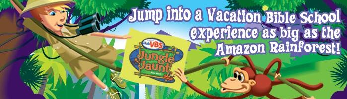 LifeWay Christian Vacation Bible School | Jungle Jaunt | Accessories