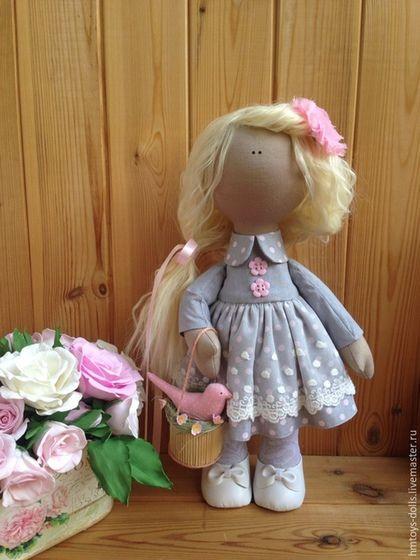 Коллекционные куклы ручной работы. Ярмарка Мастеров - ручная работа. Купить Кукла текстильная ручная работа Natali. Handmade.