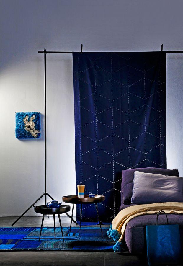 Blue / Anna Aromaa, Glorian koti. Photo Tuomas Kolehmainen, Glorian Koti.