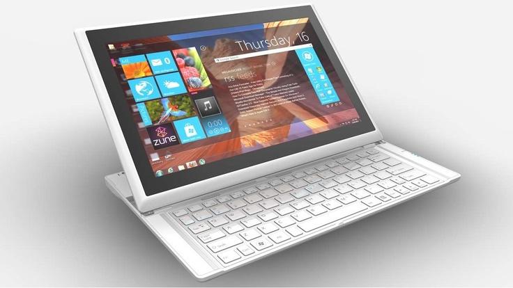 MSI Slider S20 - Un ultrabook/tablette avec clavier rétractable équipé d'un écran tactile de 11,6 pouces