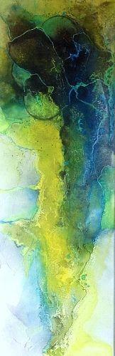 """Ursi Goetz, """"Im Farbenparadies lll"""" Mit einem Klick auf """"Als Kunstkarte versenden"""" versenden Sie kostenlos dieses Werk Ihren Freunden und Bekannten."""