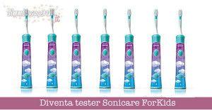 Diventa tester Sonicare ForKids spazzolino da denti