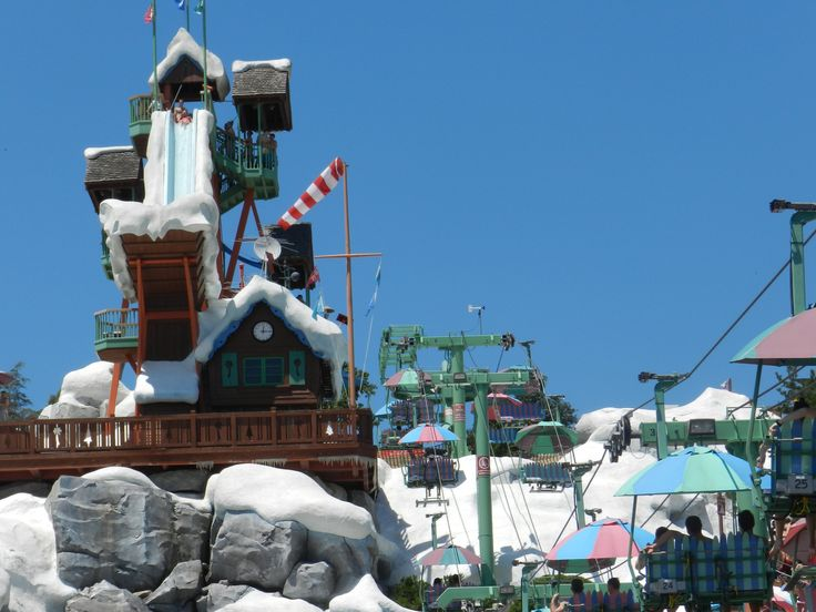 Staying cool at Disney's Blizzard Beach