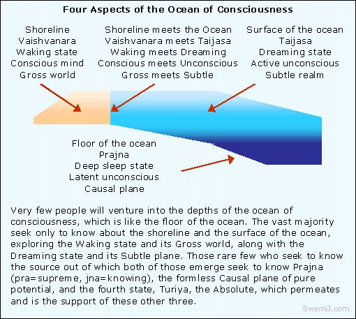 Levels and Dimensions of Consciousness in Yoga