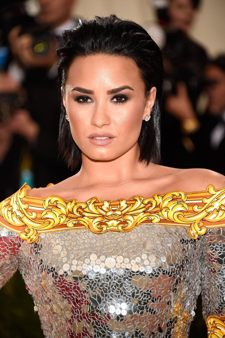 Pin for Later: See Every Elegant Beauty Look From the Red Carpet at the Met Gala Demi Lovato