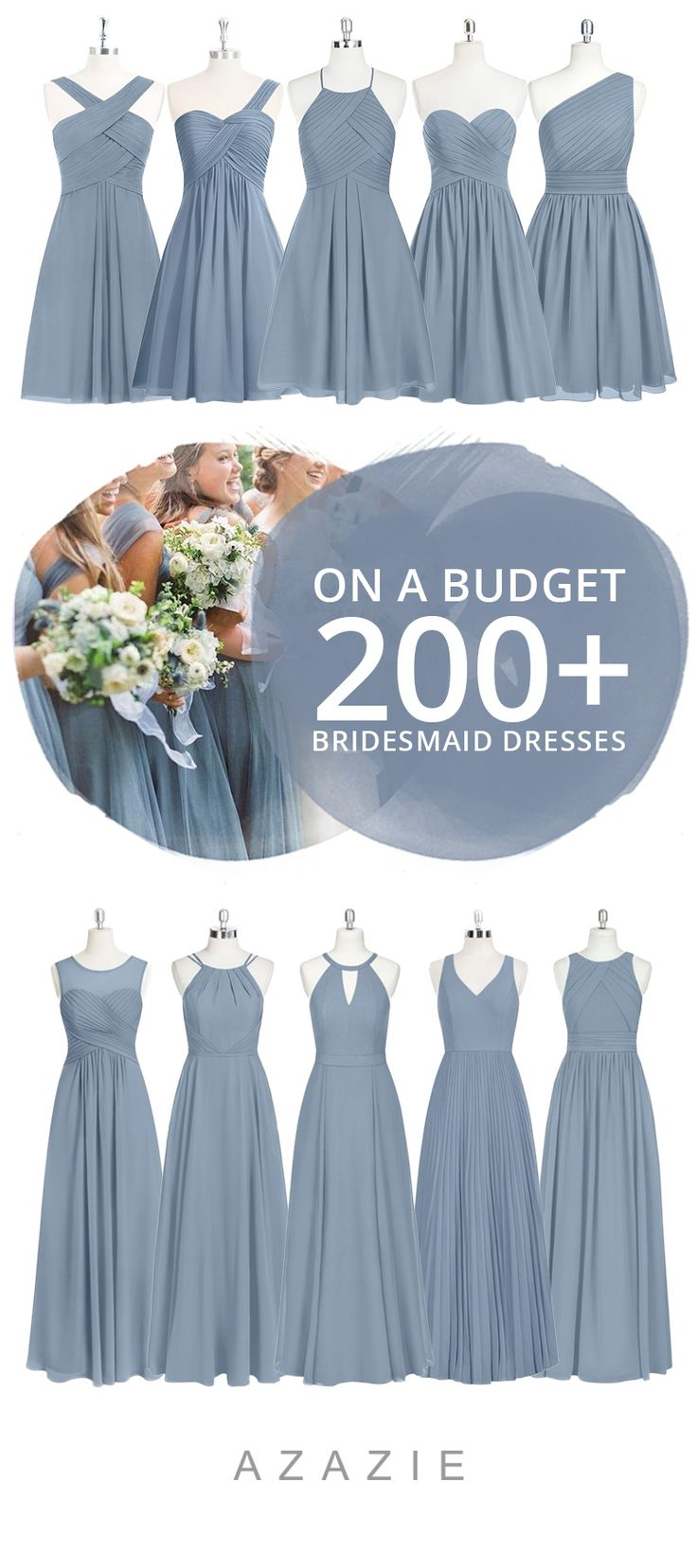 Best 25 romantic bridesmaid dresses ideas on pinterest dress your bridesmaid in this romantic soft blue available in sizes 0 30 and ombrellifo Gallery