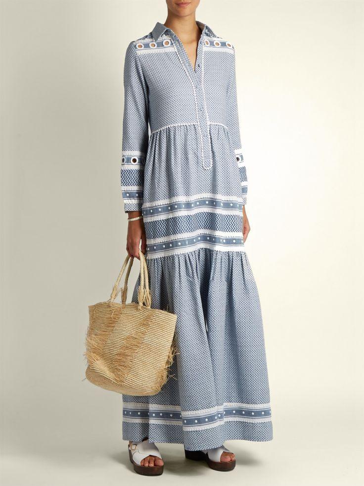 Zuriel tassel-embellished cotton maxi shirtdress | Dodo Bar Or | MATCHESFASHION.COM US