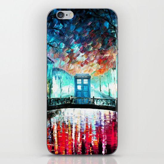 Tardis With Beautiful Starry Night - $15