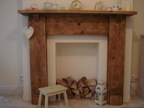 Image result for ideas for an empty fireplace