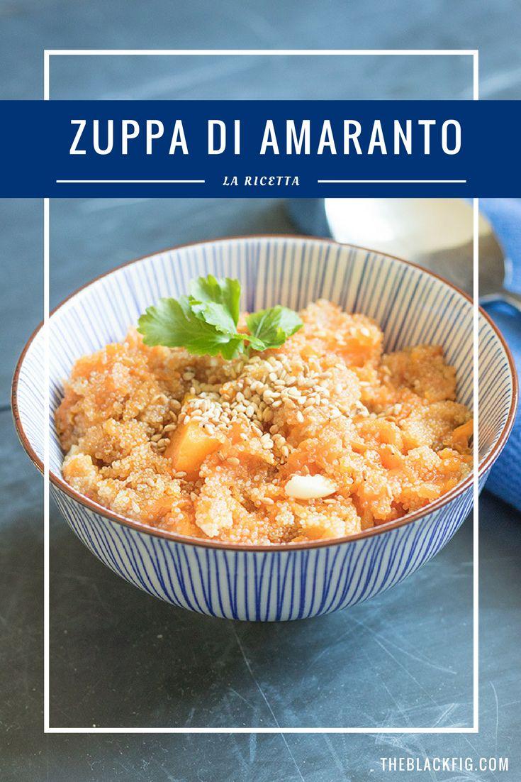 Pumpkin Amaranth Soup.