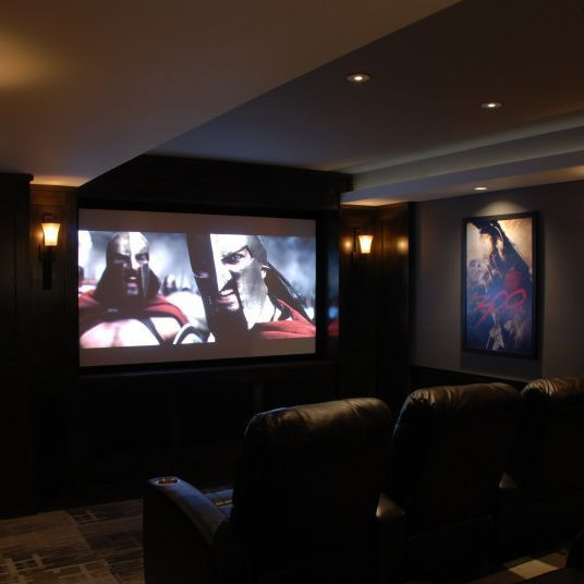 21 Extraordinary Home Theater Design Ideas U0026 Design (With Pictures)