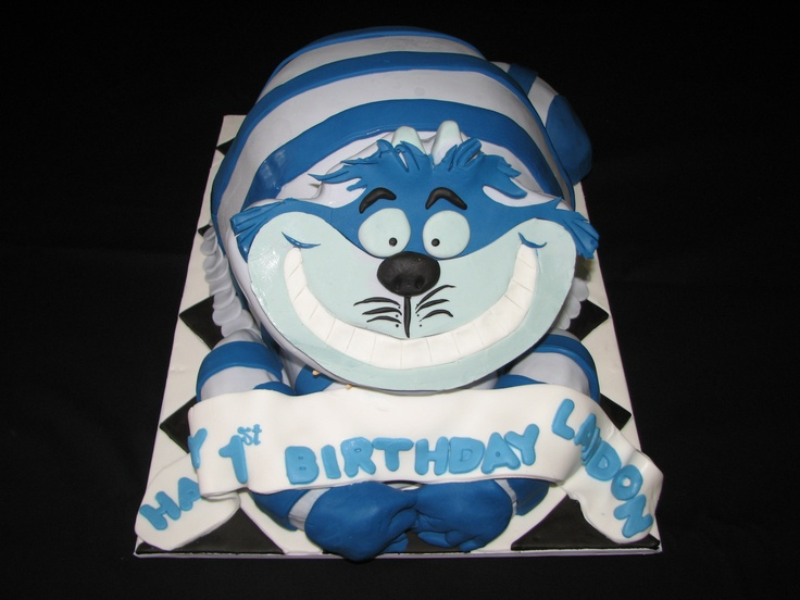 Image Of A Cheshire Cat Cakes
