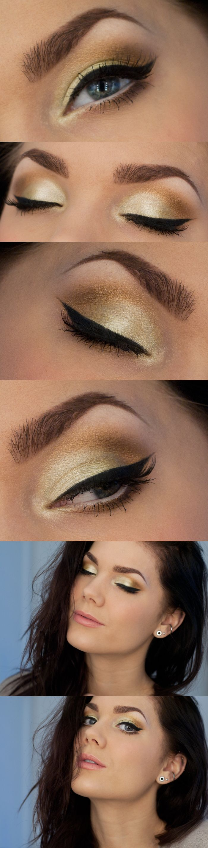 Linda Hallberg yellow gold eyes...Nikky Smith this would be good for your wedding eyes!