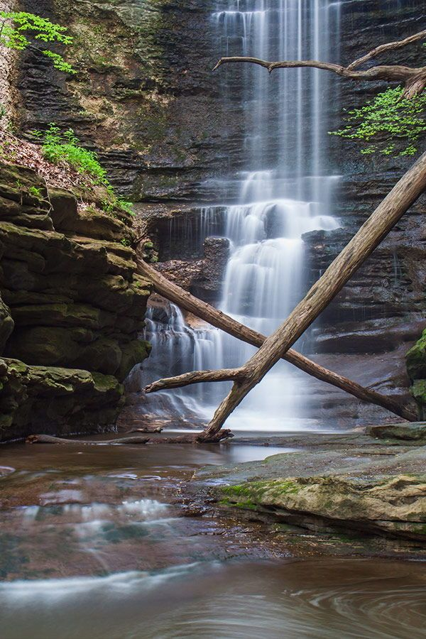 Best Camping In Illinois Camping In Illinois Castle Rock State Park Shawnee National Forest