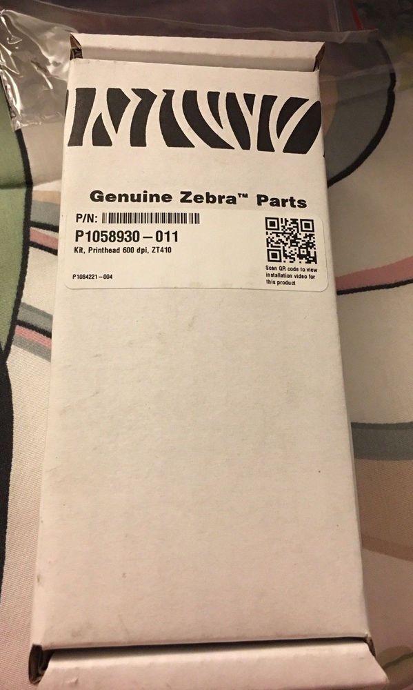 Zebra ZT410 600 dpi, printhead P/N P1058930-011 #Zebra