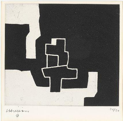 Eduardo Chillida - Composition, Etching