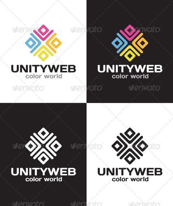Unity Web Logo - GraphicRiver Item for Sale
