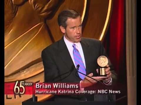 Brian Williams - Hurricane Katrina Coverage: NBC - 2005 Peabody Award Ac...