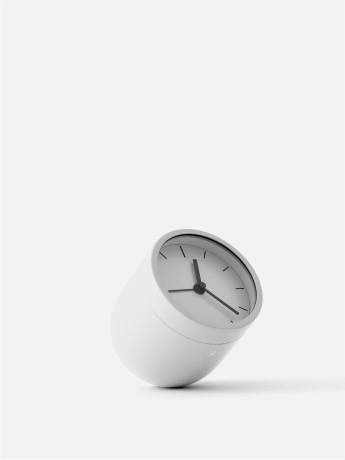 Menu Tumbler Alarm Clock By Norm Architects Scandinavian Alarm Clock That Shutss Off Upside Down Menudesignshop Com Clock Alarm Clock Scandinavian Design