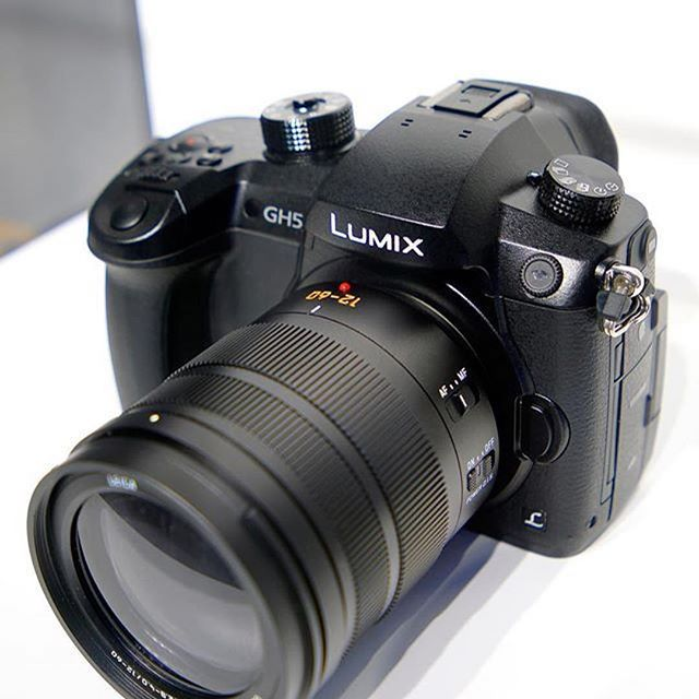 Say hello to this new guy Panasonic GH5  #Beautiful shot by @thephotogear Tag a friend who wants one! ☺️ #gh5 #gh4 #panasonic #cameras