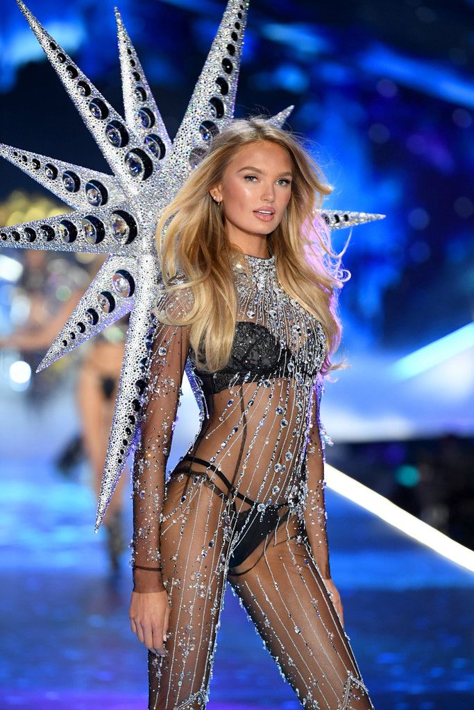 67236f5e4d 4. Romee Strijd wearing Swarovski outfit and wings