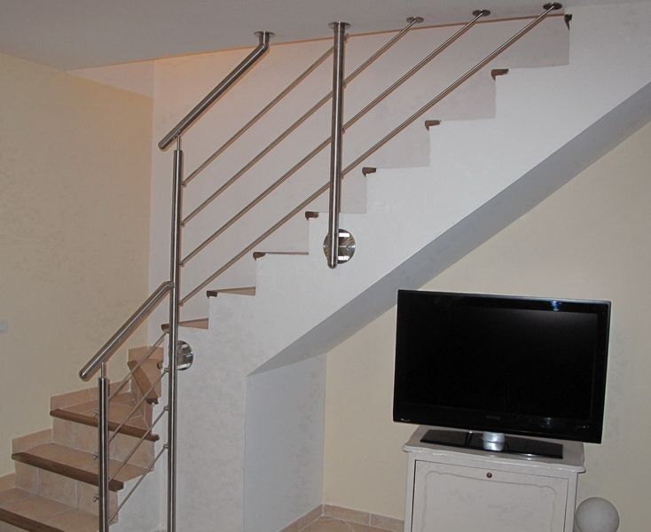 1000 ideas about garde corps inox on pinterest garde for Garde corps interieur escalier